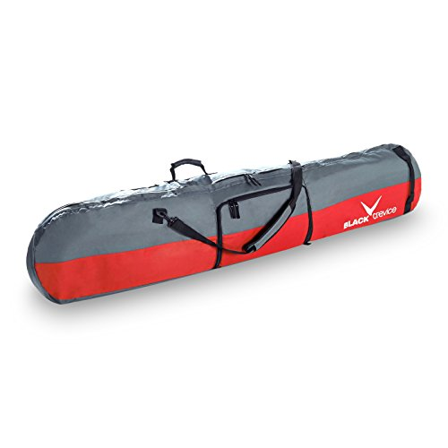 Crevice snowboardbag Noir, Rouge/Gris 170 x 26 x 8 cm, bCR151001 35 l