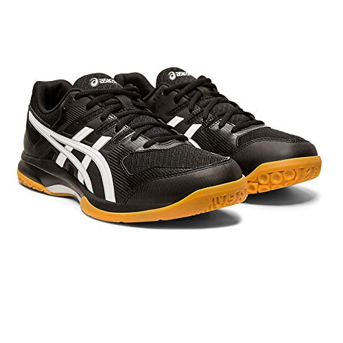 Asics Gel-Rocket 9, Indoor Court Shoe Mens, Noir Blanc