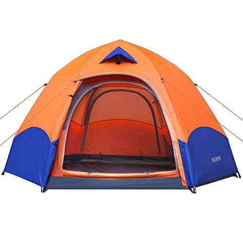 HOSPORT Tente de Camping 2-3 Personne Tente Pop Up instantanée Tente dôme Sac à Dos Sac à Dos Sac à Dos étanche pour Camping Sports de Plein air Voyage Plage