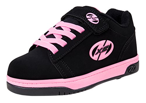 Heelys Dual Up 770231 - Sneakers Basses - Fille - Multicolore (Black/Pink) -  32 EU (13 UK)