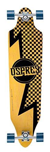 Osprey Bolt Twin Tip Fade Skateboard Noir/Jaune