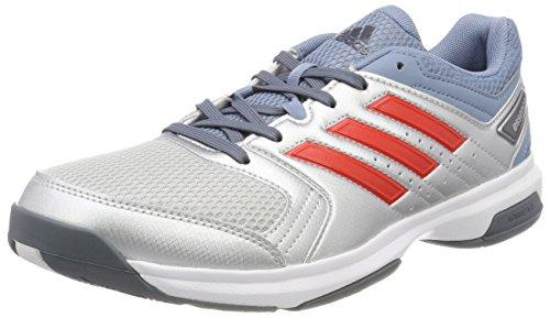adidas Essence, Chaussures de Handball Homme, Multicolore (Plamet/Roalre/Grinat 000), 45 1/3 EU