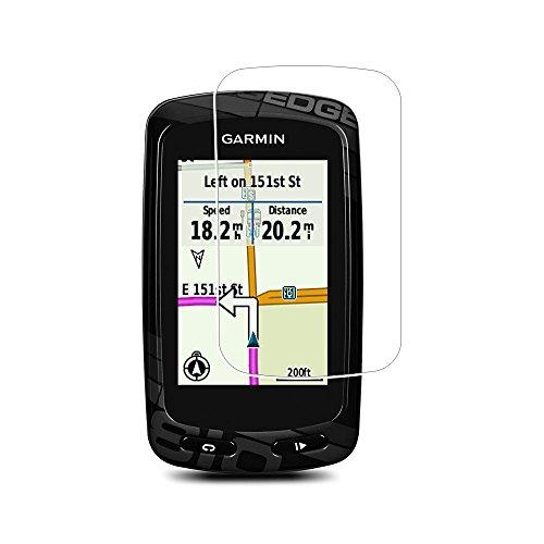 Toshion - Protection d'écran pour Garmin Edge 800/810 - Couverture complète - En verre trempé - Dureté 9H - Anti-traces de doigts