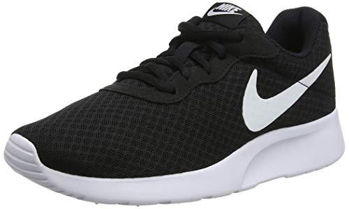 Nike WMNS Tanjun, Baskets Femme, Noir (Black/White), 37.5 EU