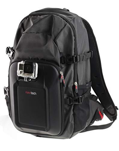 Navitech Kit Combo Sac à Dos et Accessoires 18-en-1 avec Sangle pectorale intégrée Compatible avec Excelvan Q8EZVIZ S1 Action Camera   Fantec BeastVision HDFMAIS Full HD 1080P