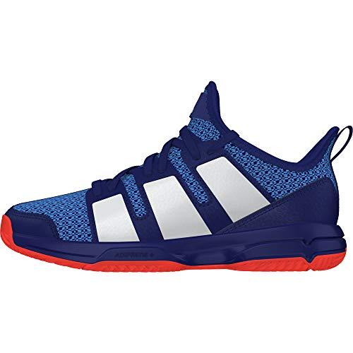 adidas Stabil Jr, Chaussures de Handball Mixte Enfant, Multicolore (Tinmis/Ftwbla/Rojsol 000), 37 1/3 EU