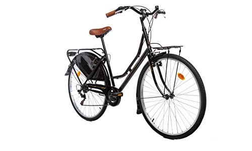 Moma Bikes, Vélo de Ville, HOLANDA 28', SHIMANO 6V, Selle Comfort