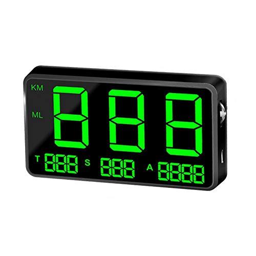 WXGY C80 Numérique Compteur De Vitesse GPS Voiture Hud Head Affichage Affichage Vitesse Affichage KM/h MPH pour Vélo Moto Moto
