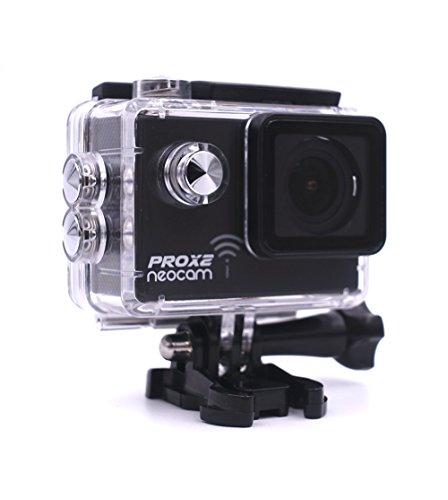 NEOCAM PROX2 - Caméra de sport embarquée vidéo 4K24 FPS 1080p 60 FPS - Photo 20MP - Ultra haute performance - Marque Française (Noir)