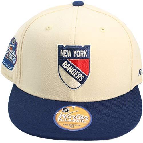 Reebok OSFA Casquette Classique d'hiver Flexfit de New York Rangers 2012