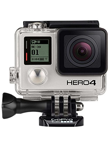 GoPro HERO4 Black Adventure Caméra embarquée 12 Mpix Wifi Bluetooth (Version allemande)