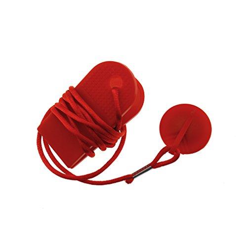 Clé De Sécurité Magnétique Pour Tapis Roulant Serrure magnétique Rouge universel