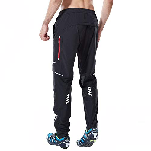 Ynport Crefreak Athletic Cycling MTB Pants Pantalons de Sport Respirant pour l'entraînement Sportif en Plein air et Multi