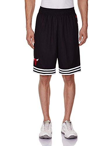 adidas Hoops Short de Sport pour Homme Hiver L Noir - NBA/Cbu