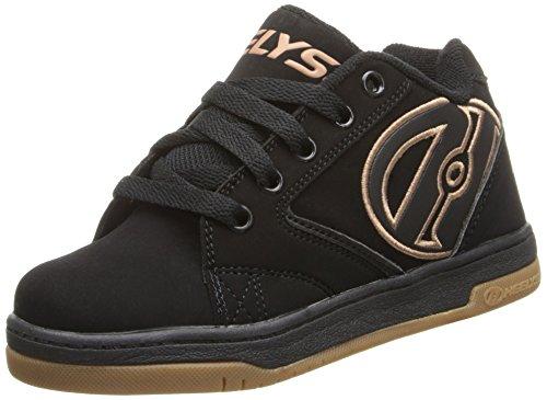 Heelys Propel 2.0, Chaussures Roue garçon, Noir (Black/Gum), 38 EU