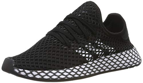 adidas Deerupt Runner J, Chaussures de Fitness Mixte Adulte, Noir (Negro 000), 39 1/3 EU