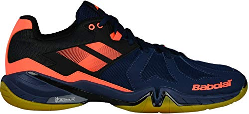 Babolat Chaussures de Badminton Hommes Shadow Spirit 2018 30s1803 Orange/Marine
