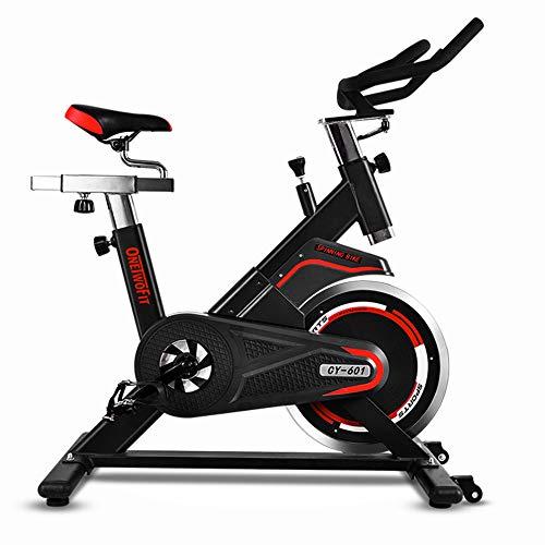 ONETWOFIT Vélo d'Appartement Professionnel Vélo d'entrainement Spinning Bike Vélo de Salle Vélo de Fitness, Salle de Sport Utilise Une Courroie d'entraînement avec Une Roue d'inertie de 18 kg OT086