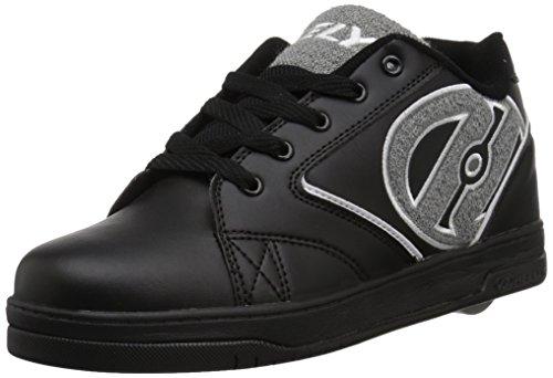Heelys Chaussures de Fitness Homme, Multicolore (Black/Grey Terry Logo 000) 39 EU