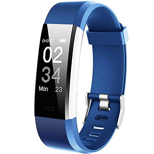 Willful Montre Connectée Femmes Homme Smartwatch Podometre Bracelet Connecté Etanche Enfant Sport Cardio frequencemètre Smart Watch Fitness Tracker Marche pour Android iOS iPhone Huawei Samsung Xiaomi