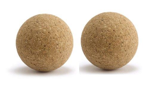 Bonzini 2 Balle de Baby Foot Neuve compétition en liége, Lourde=20 grammes