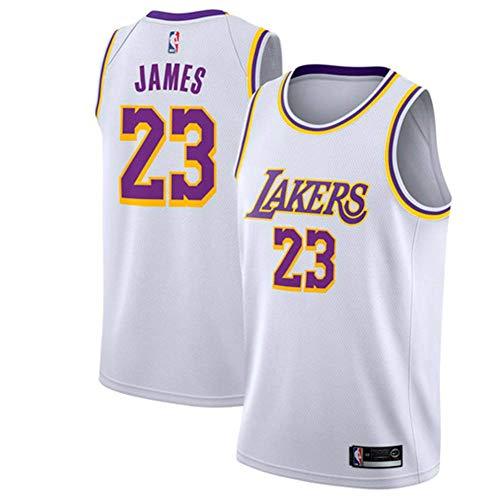 Runvian Maillot Hommes - Jersey NBA Bulls # 23 de Lebron James Maillot Swingman Basketball
