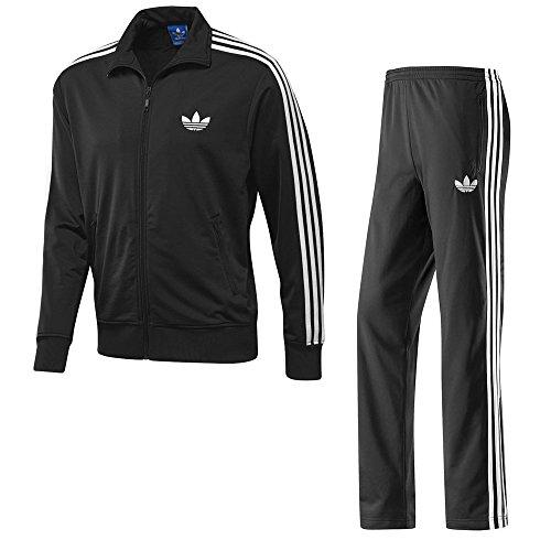 Adidas Firebird Ensemble de survêtement pour homme M noir/blanc