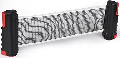 Filet Tennis de Table Rétractable et Réglable Accessoire de Ping Pong Net Remplacement Portable