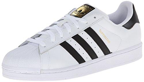 adidas Originals - Superstar, Baskets - Mixte Adulte - Blanc (Footwear White/Core Black/Footwear White 0) - 39 1/3 EU