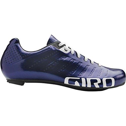 Giro Empire SLX Chaussures Men Black/Silver 2018Spinning Chaussures de VTT de shhuhe - - Ultraviolett/Weiß,