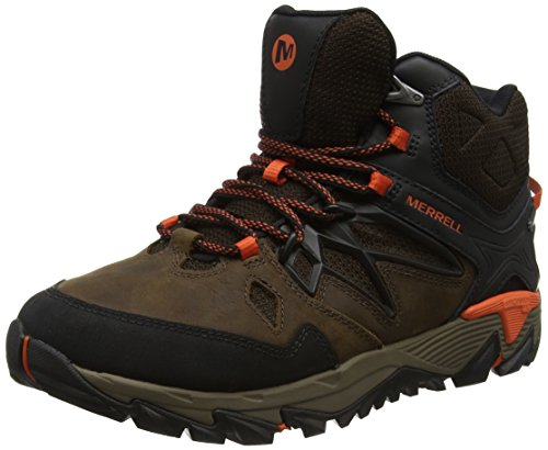 Merrell All Out Blaze 2 Mid Gtx, Chaussures de Randonnée Hautes Homme, Marron (Clay),  44 EU