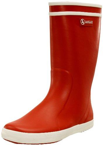 Aigle - Lolly Pop- Botte de pluie - Mixte enfant - Rouge (rouge / blanc 8) 30 EU