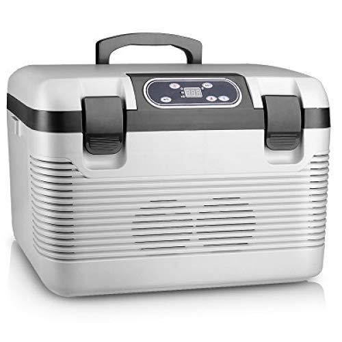 YNWJ Frigo De Camping Glaciere Electrique 12V 220V-240V (19L) Mini Refrigerateur De Voiture RéFrigéRateur Portable Voiture Au Bureau Ou Camping