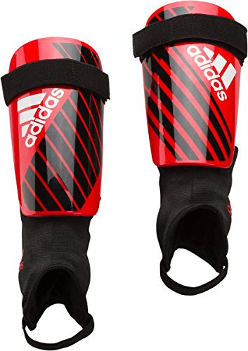 adidas X Club protège-Tibias Mixte Adulte, Active Red/Black/Off White, FR (Taille Fabricant : XL)
