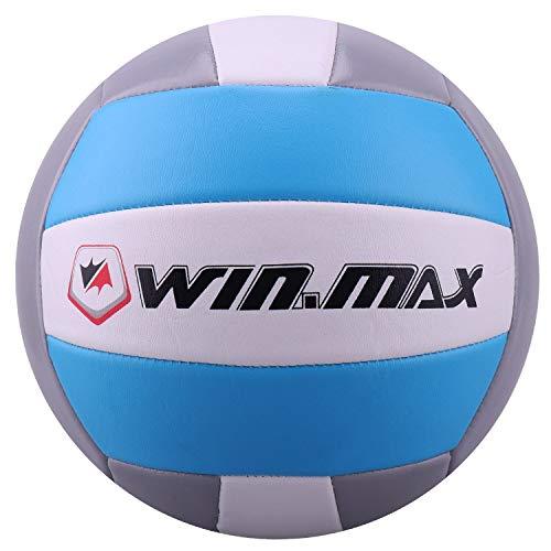 Ballon de Beach Volley, Volley-Ball (Bleu/Gris)