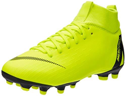 Nike Jr. Mercurial Superfly VI Academy MG, Chaussures de Football Mixte Enfant, Noir (Volt/Black 701), 36.5 EU