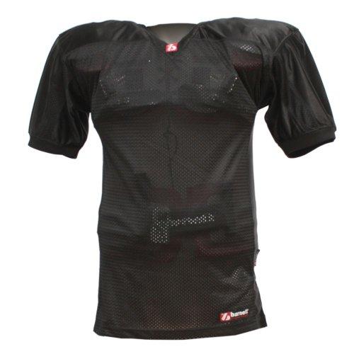 barnett FJ-2 maillot de football américain us match noir M