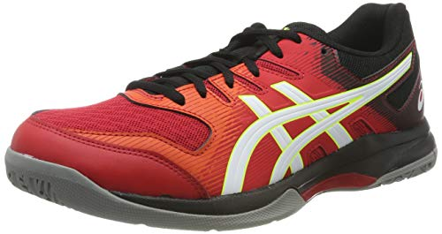 ASICS Gel-Rocket 9, Chaussures Multisport Indoor Homme, Rouge (Speed Red/White 600), 44.5 EU
