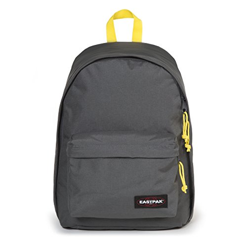 Eastpak Out Of Office Sac à dos, 44 cm, 27 L, Gris (Grey-Yellow)
