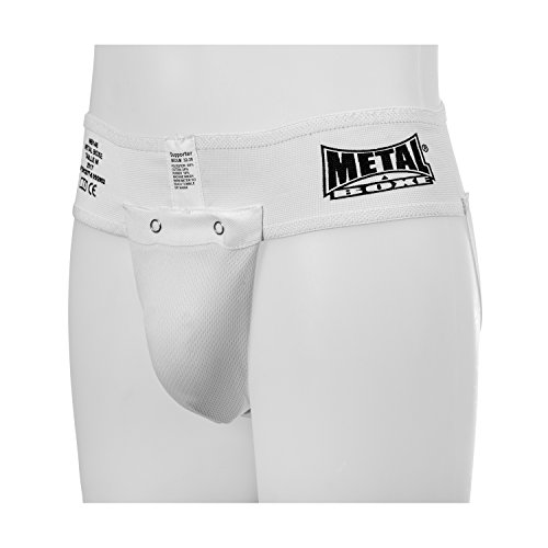 METAL BOXE Coquille slip Blanc Taille M
