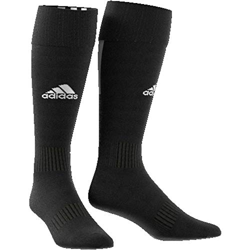 adidas Santos Sock 18 Chaussettes Mixte Adulte, Black/White, FR : L (Taille Fabricant : 4345)