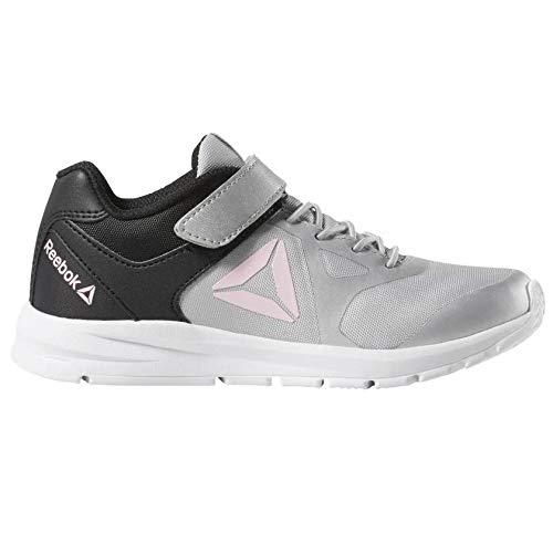 Reebok Rush Runner Alt, Chaussures de Trail Fille, Multicolore (True Grey/Black/Light Pink 000), 29 EU
