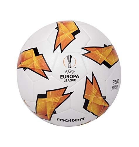 Molten Réplique du UEFA Europa League-3600Modèle Ballon de Match Officiel Size 5 Orange