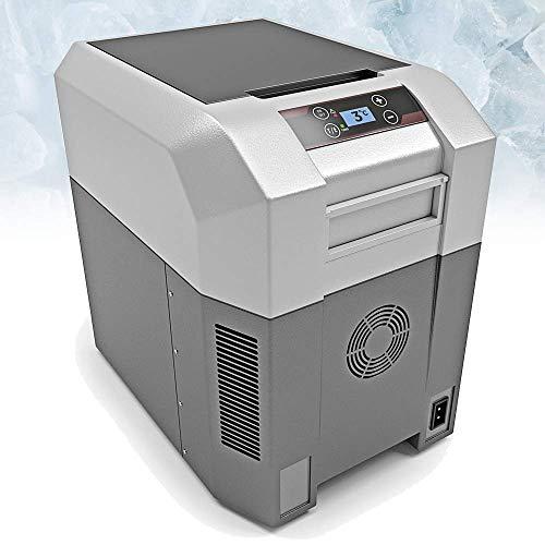 BLUEFIN Réfrigérateur Congélateur Portable à Compression (24 litres) Mini Refroidisseur avec Adaptateur AC/DC | Nourriture, Boissons, Vin | Camping, Voyage, Pique-nique | Léger, Compact