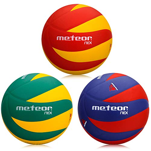 meteor Ballon de Volleyball Soft Touch Volley Ball Official Size 5 Indoor Game New