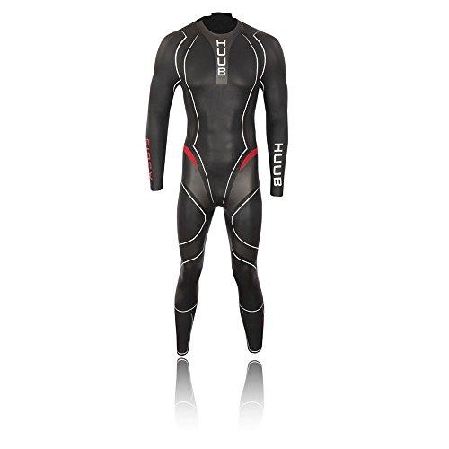 Huub AEGIS III 3: 5 Combinaison de Triathlon pour Homme, Noir, L