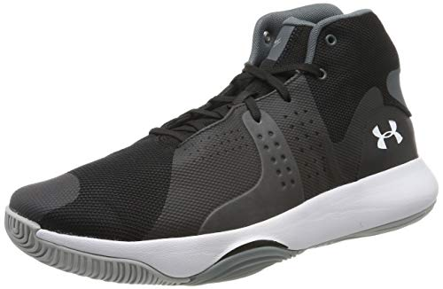 Under Armour Anomaly, Chaussures de Basketball Homme, Noir (Black 004), 48.5 EU