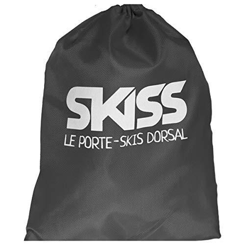 SKISS - Porte-Skis Dorsal Adulte (Gris)