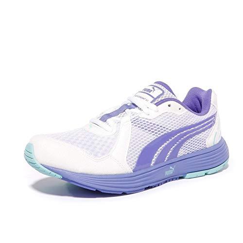DESCENDANT V2 - Chaussures Running Femme Puma - Blanc/Bleu/Iris, 36 EU