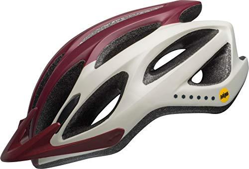 Bell Unisexe - Adulte Coast MIPS Casque de vélo Virago M Maroon/Slate/Sable
